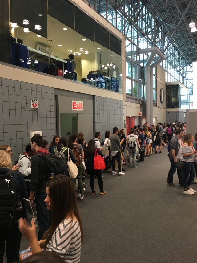 Line for OwlCrate Spin-the-Wheel